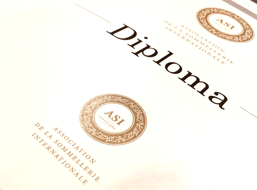 International ASI Diploma for Sommelier